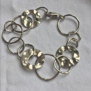 """Silpada sterling silver """"Paper Chain"""" bracelet"""
